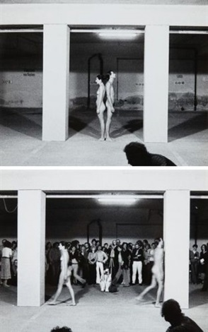 expension in space set of 3 by ulay marina abramovic