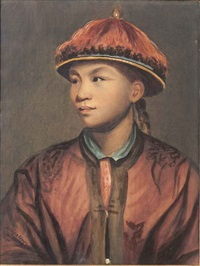 portrait of wang-y-tong by joshua reynolds