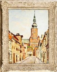 altstadt mit kirche by willi gericke and hans zank