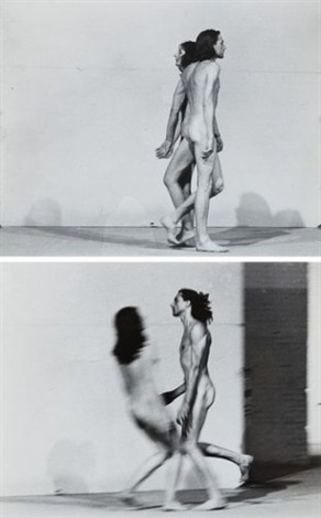 relation in space (set of 3) by ulay & marina abramovic