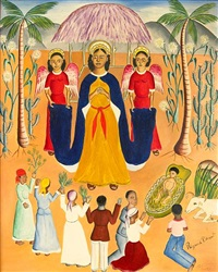 nativity by rigaud benoit