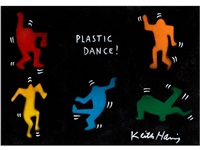 plastic dance ! by keith haring
