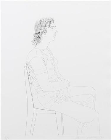 maurice payne by david hockney