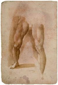 männliche beine (study) by domenico beccafumi