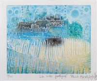 les mats (+ la ville fortifiée; 2 works) by shoichi hasegawa