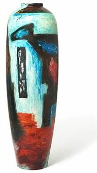 floor vase by lise aavik