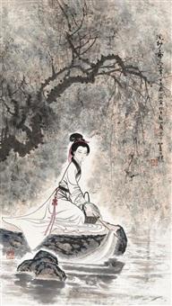 浣纱图 (figure) by gu bingxin