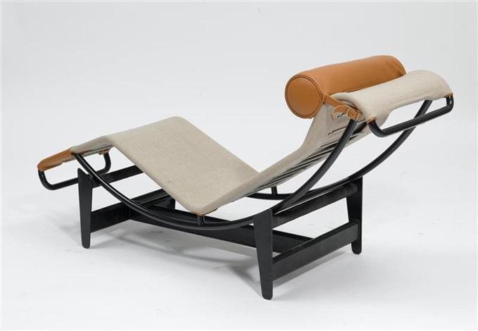 liege modell b306 lc4 von le corbusier charlotte perriand and pierre jeanneret auf artnet. Black Bedroom Furniture Sets. Home Design Ideas