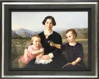 familienbildnis by franz xaver winterhalter