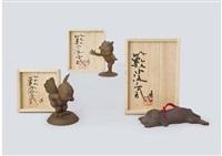 karura boy, recklessness boy, morimaru (set of 3) by satoshi yabuuchi