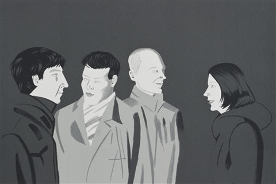 unfamiliar image by alex katz