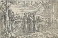die predigt christi auf dem schiff by jan swart van groningen