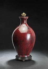lidded vase by carl halier and knud andersen