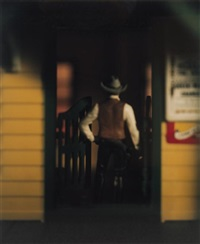 untitled (from the wild west series) by david levinthal