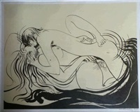the lovers by brett whiteley