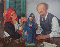 the puppet maker by albert janesch