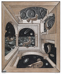 other world by m. c. escher