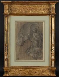 la sainte famille avec angelots by fra bartolommeo