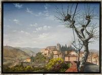 blick auf montecatini terme by matthias koeppel