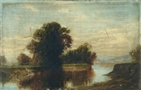 ohio river landscape by robert scott duncanson