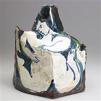 sculptural vessel by rudy autio