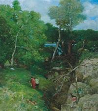fallen trees by jack cudworth