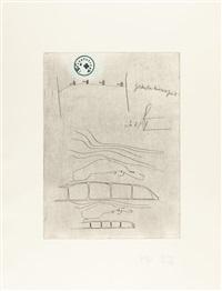 folge von 21 bll.: suite zirkulationszeit by joseph beuys