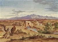 ponte nomentano und monte genaio by heinrich gärtner