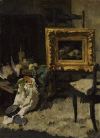 atelier-stillleben by theodor alt