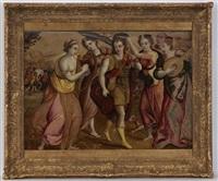 le triomphe de david by flemish school (16)