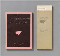 das weinen das wähnen band 2 a (tränenmeer 4) / ein tagebuch 1984 (buchobjekt und katalog, 152 unaufgeschnittene seiten in fadenheftung, kartoniert oder katalog, biennale di venezia, zweite auflage.) by dieter roth