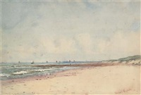 view off the belgium coast by theodosia eagleston