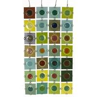 rondelay screen w/ tiles by higgins glass studio