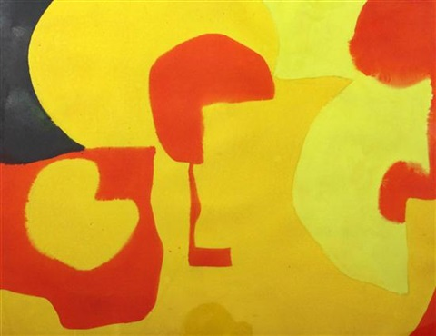cadmuim yellows with lemon and green by patrick heron