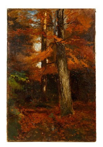 fall landscape by arthur parton