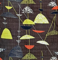panels (collab. w/robert stewart; set of 4) by lucienne day