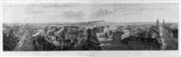 panorama von bern, vom käfigturm aus by rudolf huber