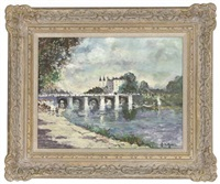 on the seine, paris by john ambrose