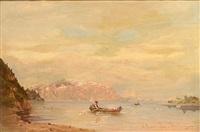 sommerliche fjordlandschaft by georg anton rasmussen