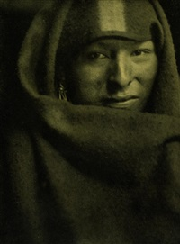 the red man (from camera work i) by gertrude kasebier