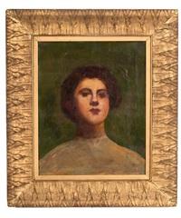 portrait of a woman by frank duveneck