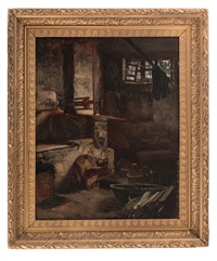 venetian interior by frank duveneck