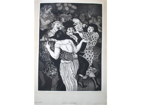 some holiday by dame laura knight