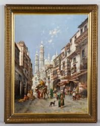 street of cairo by max friedrich rabes
