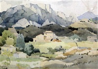 sisteron by adolphe valette