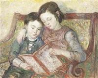 geschwisterpaar bei lesen by moses gurewicz