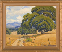 monterey, california landscape by arthur hill gilbert