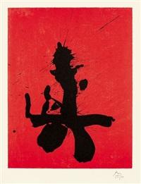 octavio paz suite: red samurai by robert motherwell