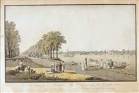 vue de la campagne de monsieur le comte de strogonoff, pris de l'autre coté by gabriel ludwig lory