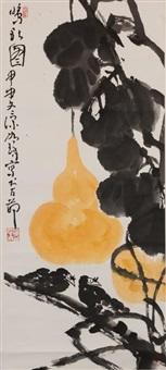 鸣秋图 by cui ruzhuo